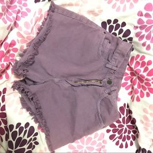 Vintage Shorts - VTG LEI MOM HIGH WAISTED SHORTS